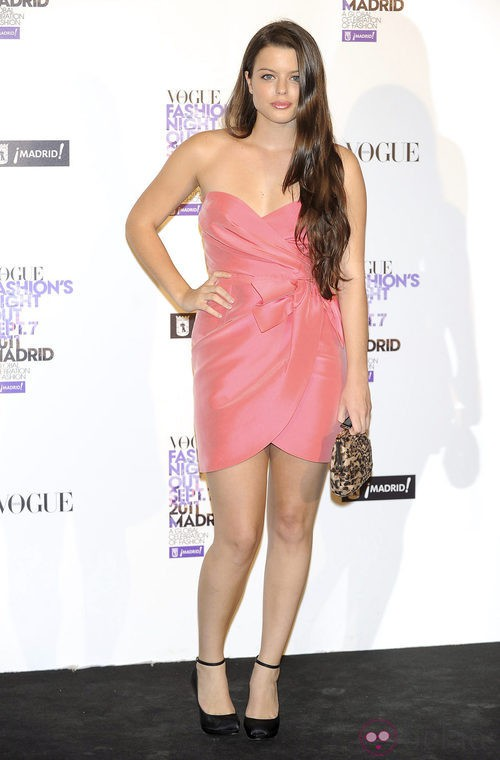 Adriana Torrebejano en la Vogue Fashion's Night Out 2011