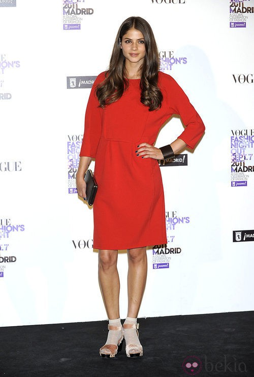 Alba Gallosi en la Vogue Fashion's Night Out 2011