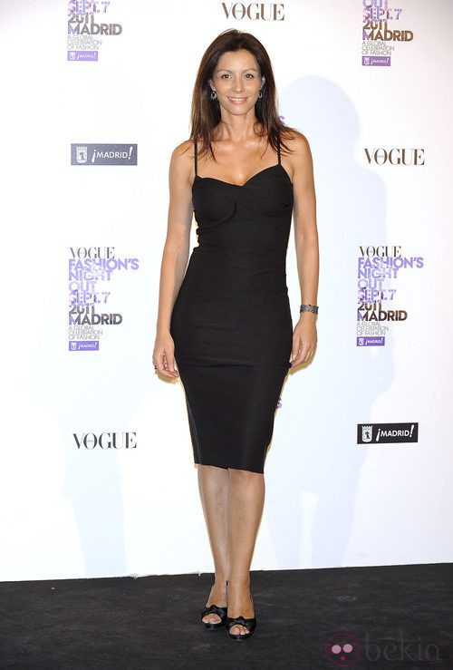 Ana Álvarez en la Vogue Fashion's Night Out 2011