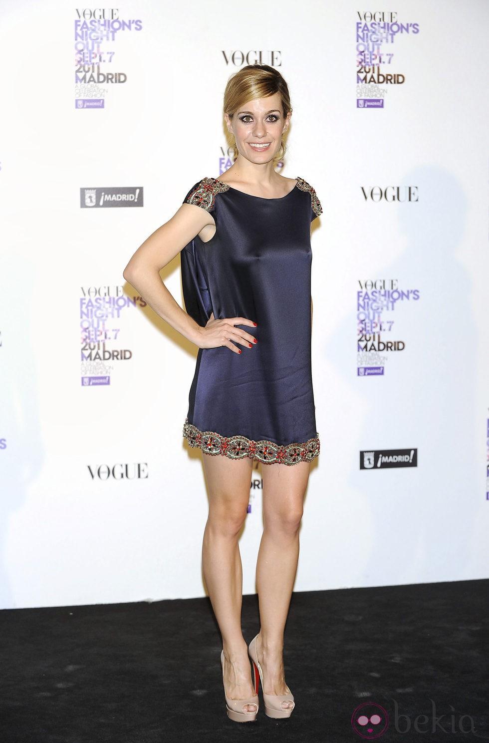 Alexandra Jiménez en la Vogue Fashion's Night Out 2011