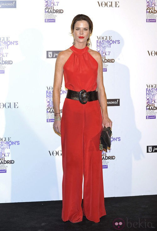 Amelia Bono en la Vogue Fashion's Night Out 2011