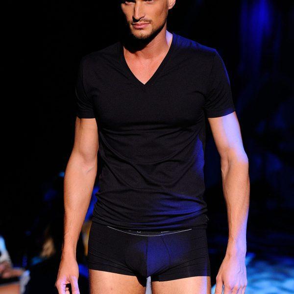 Conjunto de ropa interior negra para hombre de 2 x ist para verano de 2012 colecci n de ropa - Marcas de ropa interior para hombre ...