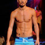 Bañador boxer a rayas de 2(X)ist para verano de 2012