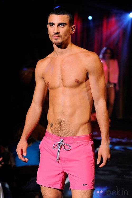 Bañador rosa para hombre de 2(X)ist para verano de 2012