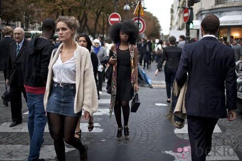 Las calles de Paris en la Vogue Fashion's Night Out