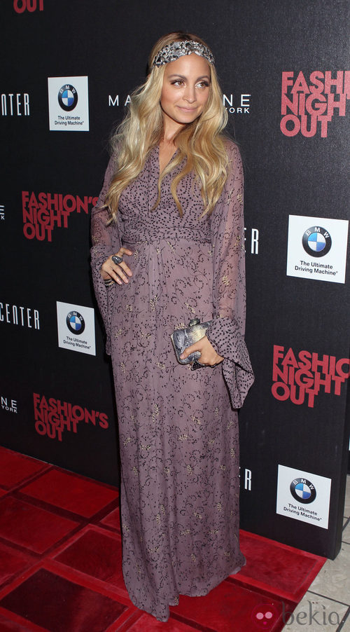 Nicole Richie en la Vogue Fashion's Night Out 2011