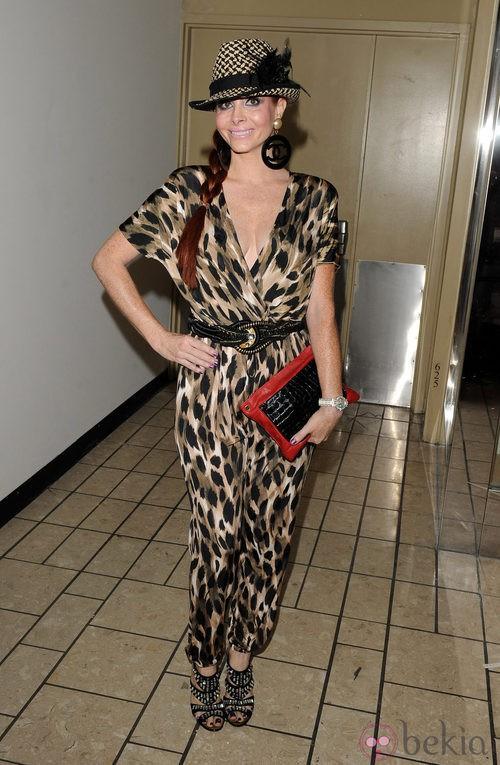 Phoebe Price en la Vogue Fashion's Night Out 2011