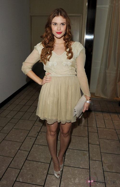 Holland Roden en la Vogue Fashion's Night Out 2011