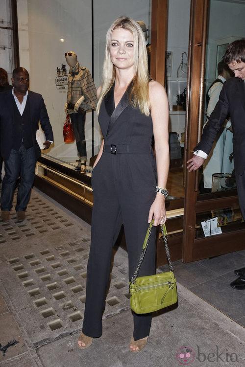 Jemma Kidd en la Vogue Fashion's Night Out 2011 de Londres