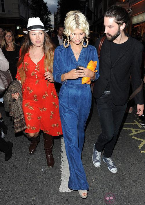 Pixie Geldof en la Vogue Fashion's Night Out 2011 de Londres
