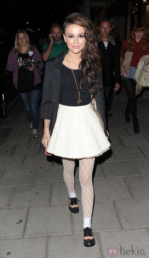 Cher Lloyd en la Vogue Fashion's Night Out 2011 de Londres