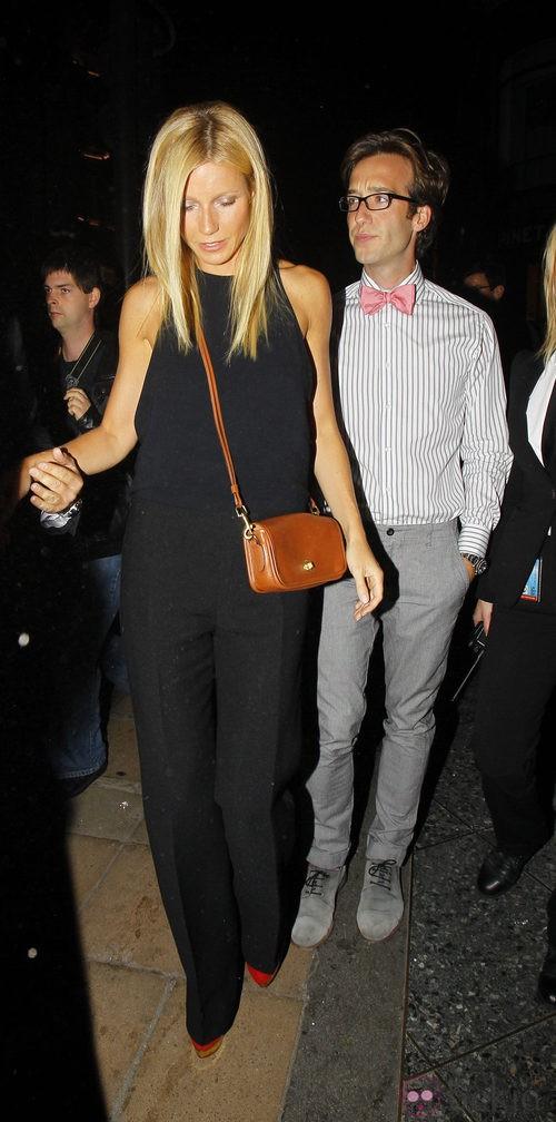Gwyneth Paltrow en la Vogue Fashion's Night Out 2011 de Londres