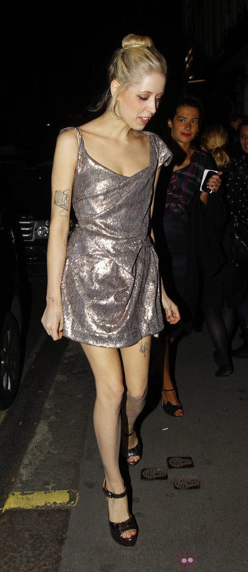 Peaches Geldof en la Vogue Fashion's Night Out 2011 de Londres