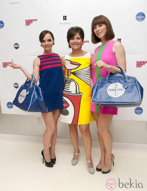 Christina Ricci presenta 'Pan Am' en la Vogue Fashion's Night Out 2011 de Nueva York