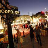 Ambiente en Rodeo Drive durante la Vogue Fashion's Night Out 2011 de Beverly Hills