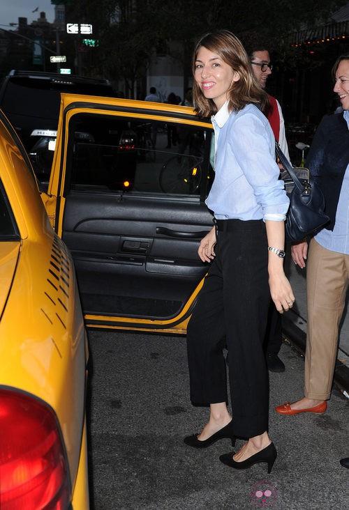 Sofia Coppola en la Vogue Fashion's Night Out 2011 de Nueva York