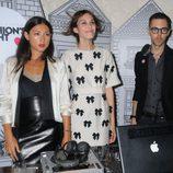Alexa Chung y amigos en la Vogue Fashion's Night Out 2011 de Londres