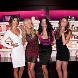 Los ángeles de Victoria's Secret en la Vogue Fashion's Night Out