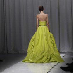 Traje verde pistacho de Jason Wu, colección primavera de 2012