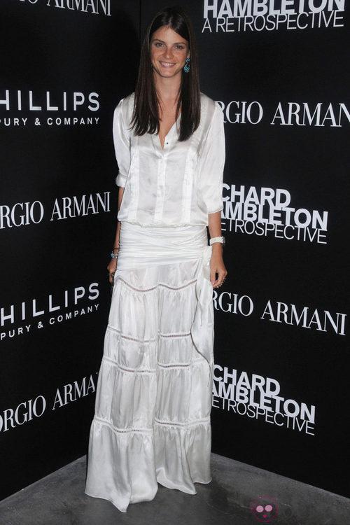 Jeisa Chiminazzo en la Semana de la Moda de Nueva York