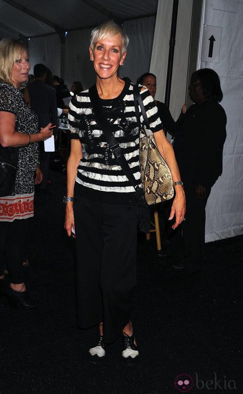 Jan Arnold en la Semana de la Moda de Nueva York, colección primavera/verano 2012