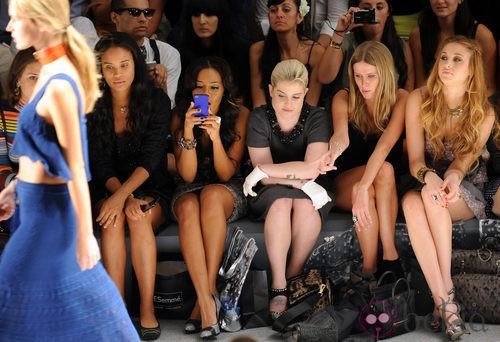 Front row de Charlotte Ronson en Nueva York