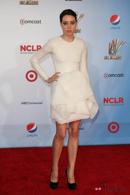 Aubrey Plaza en los premios ALMA 2011