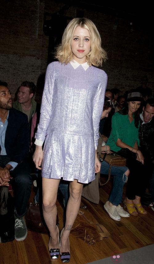 Peaches Geldof en la Semana de la Moda de Nueva York
