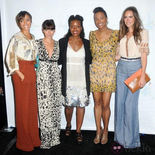 Front row de Tracy Reese, colección primavera 2012