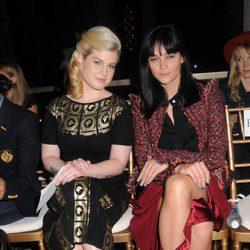 Kelly Osbourne en el front row de Zac Posen, colección primavera 2012