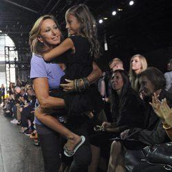 Desfile de DKNY, colección primavera de 2012