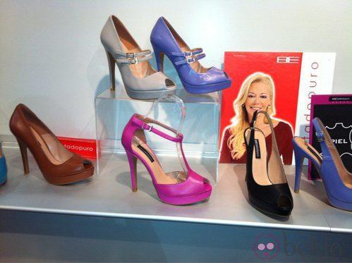 Zapatos de tacón creados por Furiezza y Belén Esteban