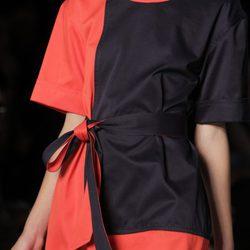 Vestido bicolor de Marc by Marc Jacobs, colección primavera 2012