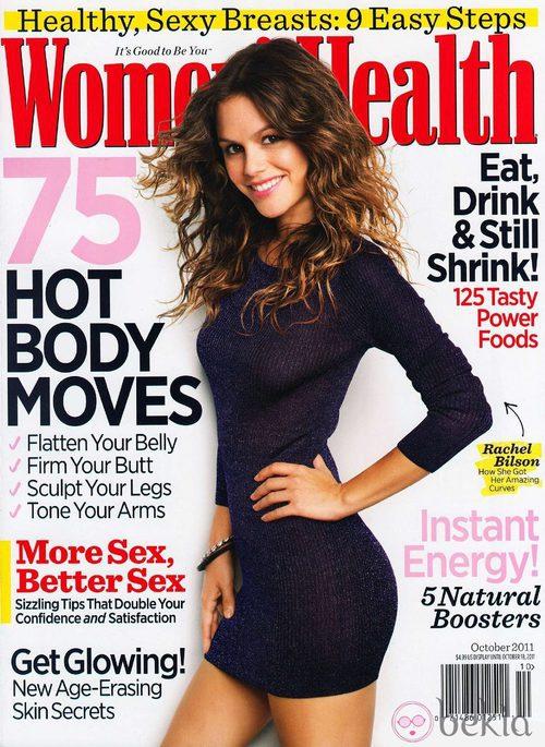 Rachel Bilson, portada de Women's Health USA en octubre de 2011
