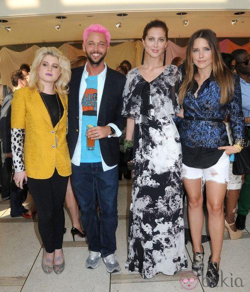 Kelly Osbourne, Chris Benz, Eva Amurri y Sophia Bush en la Semana de la Moda de Nueva York