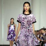 Vestido estampado de Prabal Gurung, colección primavera 2012
