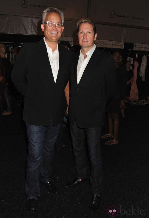 Los diseñadores Mark Badgley y James Mischka