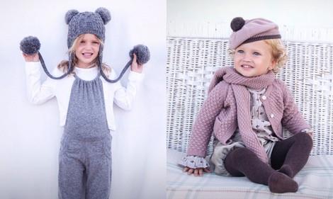 Look de niña de la colección otoño/invierno 2013/2014 de Bonnet à Pompon