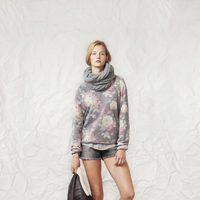 Look de la línea Grey Flowers de la colección otoño/invierno 2013/2014 de Springfield