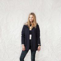 Abrigo de la línea Technical Tartan de la colección otoño/invierno 2013/2014 de Springfield