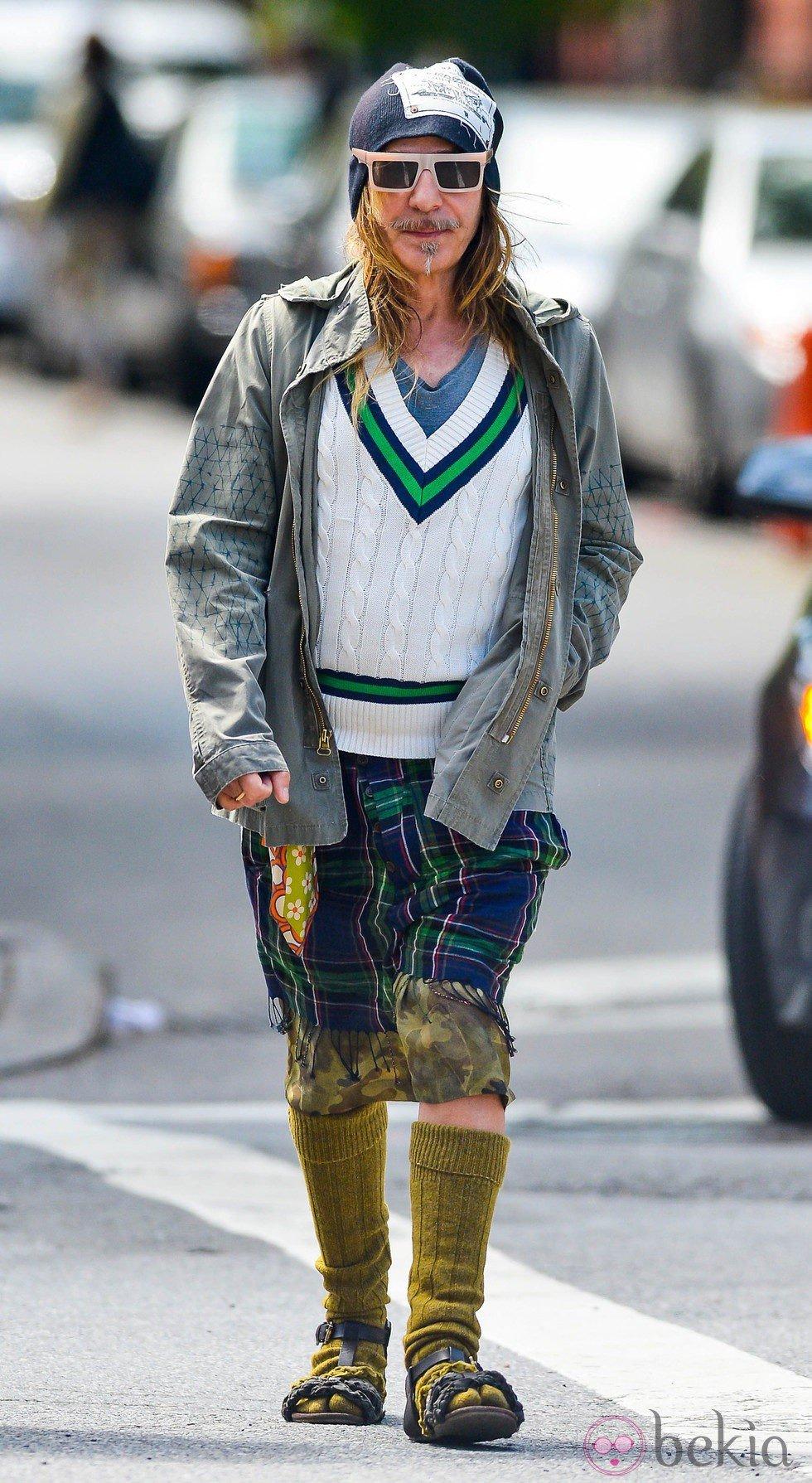John Galliano de paseo por Nueva York