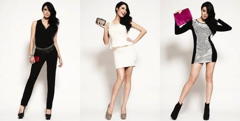 Pilar Rubio con un vestido blanco de Only