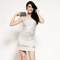 Pilar Rubio con un vestido de Ada Gatti