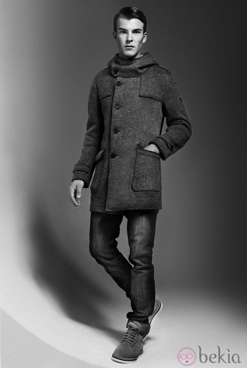 Abrigo de la colección otoño/invierno 2013/2014 de Adolfo Dominguez