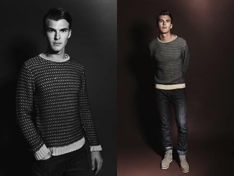 Look masculino de la colección otoño/invierno 2013/2014 de Adolfo Dominguez
