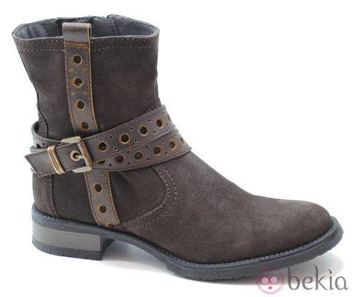 Botas color marrón de la colección otoño/invierno 2013/2014 de Xti
