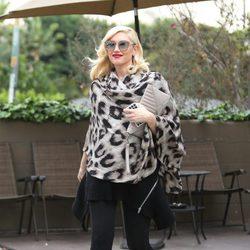 Gwen Stefani, una premamá con taconazos