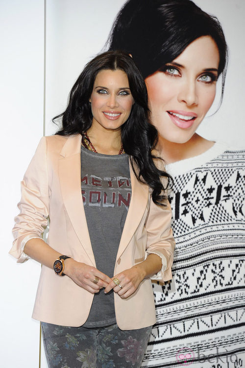 La presentadora Pilar Rubio