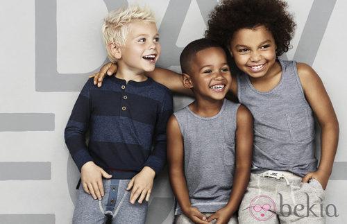 Imagen de la campaña de ropa interior de David Beckham para H&M