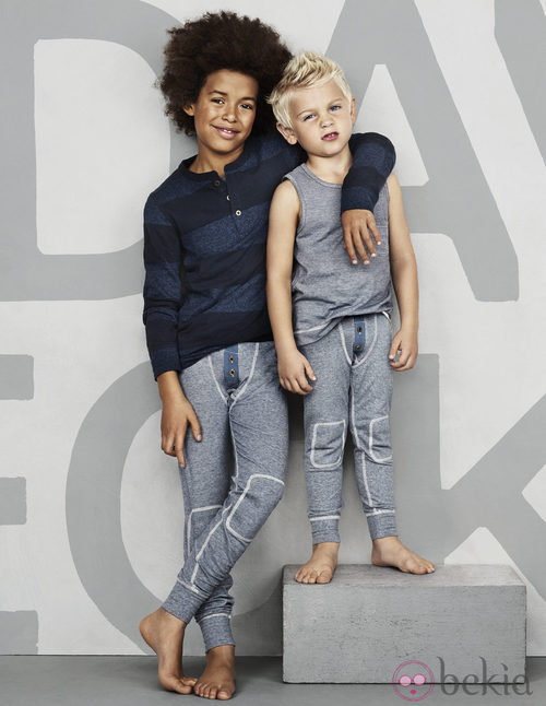 Prendas de la colección infantil de David Beckham para H&M
